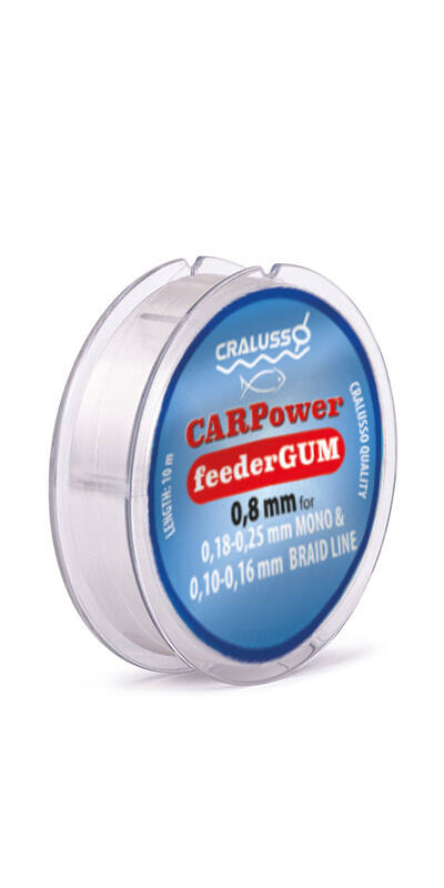 CARPower feeder gumi - 2098-0,65 (10m)