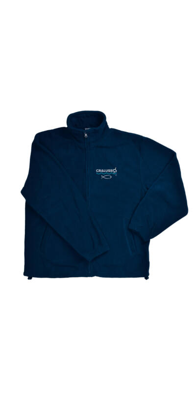 Cralusso polár pulóver kék M