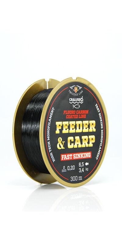 Feeder & Carp fluoro carbon bevonat - 2095 QSP-vel 0,18-0,30 mm (150 m)