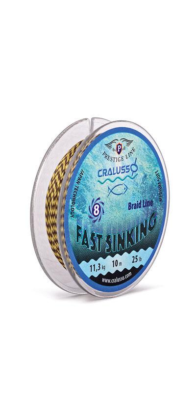 Fast Sinking fonott süllyedő horgászzsinór - 2083 -  12-25 lb (10 m)