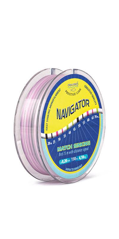 Navigator süllyedő horgászzsinór - 2076  0,16-0,23 mm  QSP-vel  (150M)